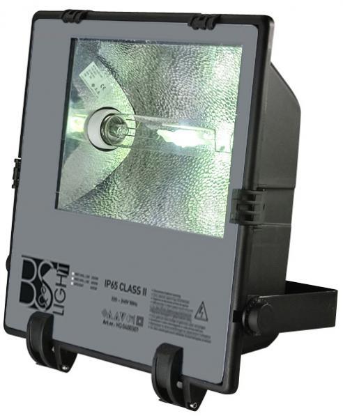 Gas lamp Nav-t geel licht 400watt b&s met 15 meter snoer.